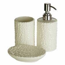 Magnolia Dolomite 3 Piece Bathroom Accessory Set