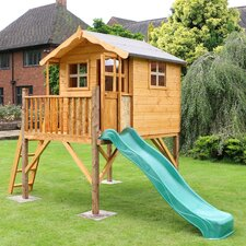 Poppy Playhouse with Tower and Slide