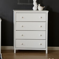 Cotton Candy 4 Drawer Chest