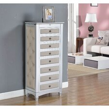 Jewelry Armoire with Cushions