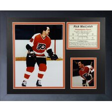 Rick MacLeish - Philadelphia Flyers Framed Photographic Print