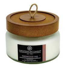 Heritage Firewood Fig Jar Candle