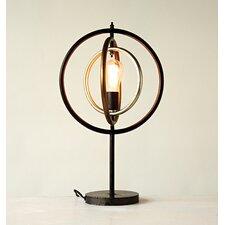 "Metal Ringed 23.8"" Table Lamp"