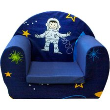 Space Boy Children's Foam Chair