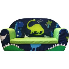 Dino in the Dark Children's Sofa