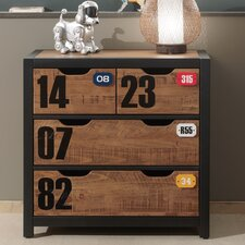 Alex 4 Drawer Chest of Drawers