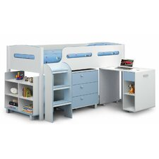 Oslo Single Mid Sleeper Bed with Storage