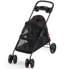 4 Wheel Cat/Dog Pet Standard Stroller