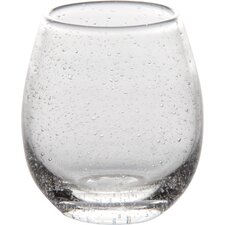 Joel 16 Oz. Stemless Wine Glasses (Set of 4)
