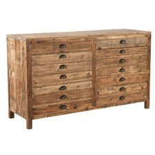 Apothecary 14 Drawer Accent Chest by Furniture Classics LTD