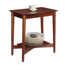 Valenzuela Mid Century Chairside Table by Varick Gallery