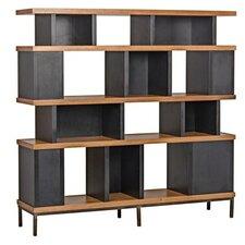 Meier 70 Accent Shelves Bookcase by Noir