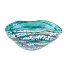 Mauna Loa Glass Decorative Bowl