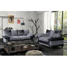Chicago 3 Seater Sofa and Loveseat Set
