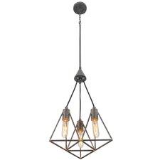 Trini 3-Light Geometric Pendant