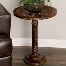 Wood Elephant End Table by Cole & Grey