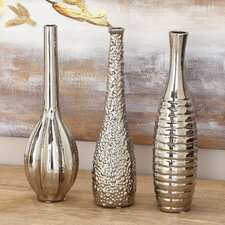3 Piece Novelty Ceramic Vase Set (Set of 3)