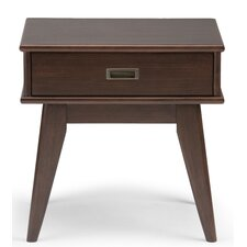 Draper Mid Century End Table by Simpli Home