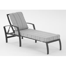 Escape Chaise Lounge  with Cushion by Koverton