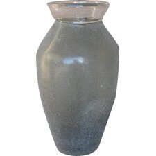 Tall Textured Glass Vase