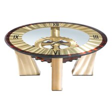 Cog Clock Coffee Table by Nova of California