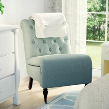 Columbus Roll Back Tufted Side Chair by Alcott Hill