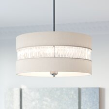 Lonie 3-Light Drum Pendant