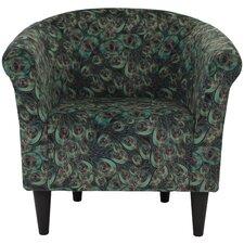 Kareem Barrel Chair by World Menagerie
