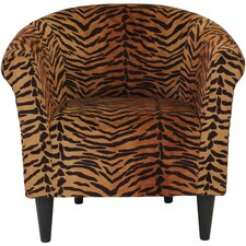 Kareem Barrel Chair by World Menagerie
