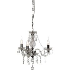Luster 3 Light Crystal Chandelier