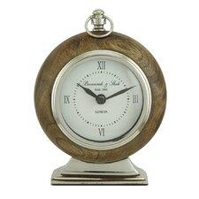 Ponders Round Tabletop Clock