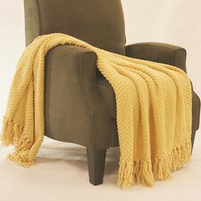 Bulfinch Jumbo Knitted Blanket