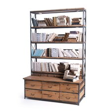 Ultimate 94 Etagere Bookcase by Loon Peak
