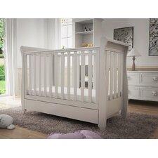 Eva Sleigh Dropside Convertible Cot Bed