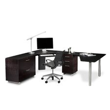 Sequel Corner L-Shape Executive Desk
