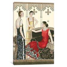 'Art Decor Elegance IV' Graphic Art Print on Wrapped Canvas