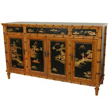 Ching 3 Drawer Hall Cabinet by Oriental Furniture