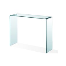 Waterfall Glass Console Table by C2A Designs