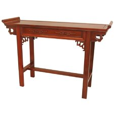 Qing Hall Console Table by Oriental Furniture