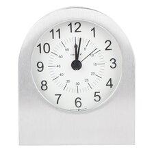 Verichron Aircraft Grade Aluminum Alarm Tabletop Clock