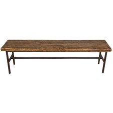 Industrial Farm Metal Dining Bench by Napa East Collection