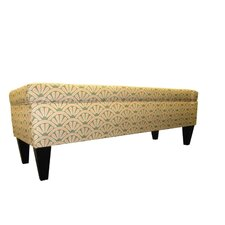 Regis Two Seat Storage Bedroom Bench by Red Barrel Studio