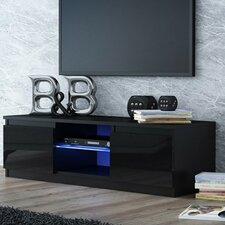Turin 2 Door Glass TV Stand