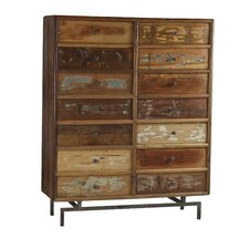 Indian 14 Drawer Accent Chest by Design Tree Home