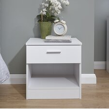 Ehmann 1 Drawer Bedside Table