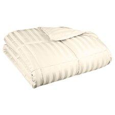 Down Alternative Comforter Stripe