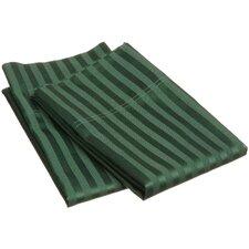 300 Thread Count Stripe Pillowcase Pair (Set of 2)
