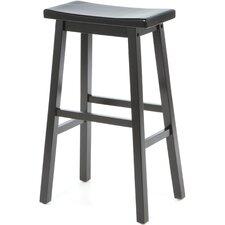 Furniture Leather Saddle Stools Seat Bar Stool