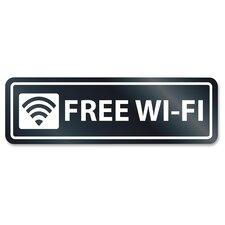 Free Wi-Fi Window Sign