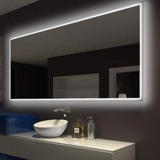 Rectangle Backlit Bathroom / Vanity Wall Mirror by Paris Mirror